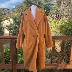 Mislook faux fur teddy jacket coat